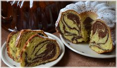 Máslová bábovka 3d Cakes, Bundt Cakes, Scones, Food Hacks, Macarons, Sweet Recipes, French Toast, Food And Drink, Pie