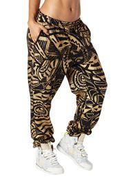 Zumba Fitness *2* Tri-Me Jammin Jersey Pants /& Street Zwag Racerback SET Blue XS
