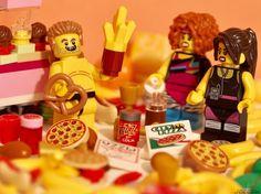 "Bubba's packing on the pounds for his upcoming redneck sumo match! . ""The ladies just jealous..."" . #legonofilterfriday #lego #sumo #bubbabambrik #businessinthefrontpartyintheback #mullet #legomullet #redneck #junkfood #minifiguresbigworld #afol #legominifigures #toyslagram_lego #brickcentral #legoart #legography #legogram #joecowlego #brickpichub #bricknetwork #toyartistry_lego #lego_hub #brickshift #vitruvianbrix #stuckinplastic #brickculture #toy_photographers #utahtoycrew"