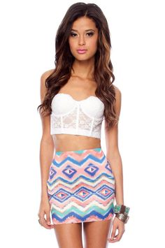 Aztec. LOVE the outfit but this girl needs to eat something! sheesh