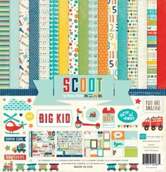 Scoot 12x12 Collection Kit $11.89