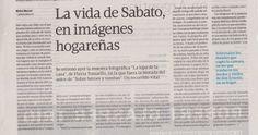 """El diario """"Tiempo Argentino"""" recomienda la muestra """"La Lupa de la Casa"""" en la casa de Ernesto Sábato. Se puede visitar los sábados de 13 a 19 hasta el 18 de diciembre."""