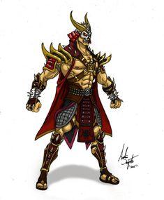 Shao Kahn Design by on DeviantArt Scorpion Mortal Kombat, Mortal Kombat 3, Mortal Kombat X Wallpapers, Kahn Design, Famous Warriors, V Games, Video Games, Fairytale Castle, Animal Fashion