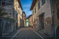 Levico Terme | Alley | (2016) by federico_loddo