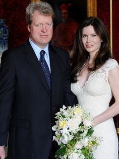 Ms Gordon, who is the founder of the Whole Child International charity, now has the official title of Countess Spencer.  The former model, who was born in Canada, donned a white fitted lace wedding dress with a v-neck and carried a streaming bouquet of cream and white flowers.    The brother of the late Princess Diana announced the engagement in February this year. It is the Earl's third marriage.