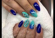 Kagylós: One step géllakk, Türkiz (107) kék (151)