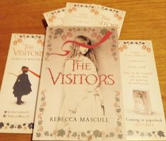 The Visitors arrives at @Pamreader's house in a Twitter giveaway.