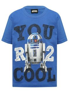 M&Co. Boys Star Wars R2 Cool t-shirt
