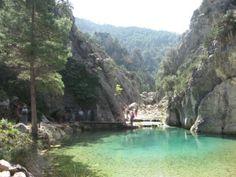 Zona protegida em Aragon,Beceite (Espanha)  Minha terra! ;)