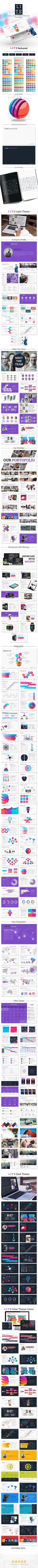 LITE Presentation - Powerpoint Template (PowerPoint Templates)