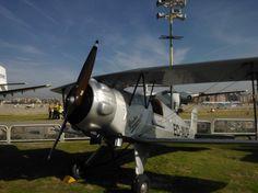 Exposición de aviones antiguos  Madrid, Spain