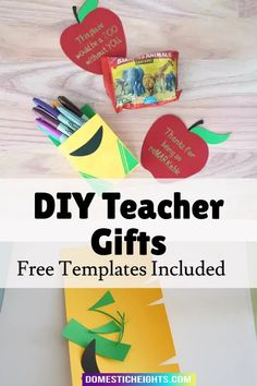 inexpensive teacher gift ideas, personalized teacher gifts, homemade teacher appreciation gifts, uncommon gifts for teachers Handmade Crafts, Diy And Crafts, Crafts For Kids, Inexpensive Teacher Gift Ideas, Uncommon Gifts, Personalized Teacher Gifts, Teacher Appreciation Gifts, Homemade, Projects