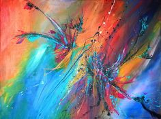 """'""""Farbenmagie""""' von Maria Killinger bei artflakes.com als Poster oder Kunstdruck…"""