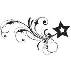 Star Tattoos Designs: Tribal Star Tattoo ~ Tattoo Design Inspiration
