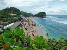 Pantai Indrayanti, Gunung Kidul, Yogyakarta | Enjoy The Journey