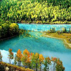 Beautiful Kanas Lake in #Xinjiang