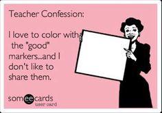 6 Hilarious and True Teacher Confessions - Teach Junkie