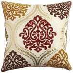 Embroidered Ornate Pillow