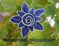 denespresso: Broche flor