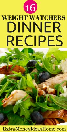 16 Ultimate Weight Watchers Dinner Recipes that Will Blow You You Away. Looking for super healthy and delicious weight watchers dinner recipes that will wow you. These cool recipes are so awesome and they are worth pinning for later. Fast Healthy Meals, Easy Healthy Recipes, Healthy Food, Healthy Eating, Weight Watcher Dinners, Weight Watchers Diet, Dinner Reciepes, Recipes For Beginners, Food Ideas