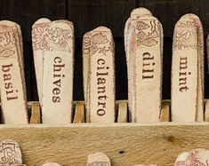 Good Custom Ceramic Herb Garden Markers By Alluvial On Etsy | Housewarming Gift  Ideas | Pinterest | Gardens, Ceramics And Herbs Garden