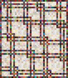 Обрывки Галор Одеяло Pattern