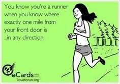 Yes I do. And the three mile mark :)