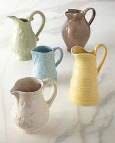 Five Assorted Pitchers by NM EXCLUSIVE at Neiman Marcus.