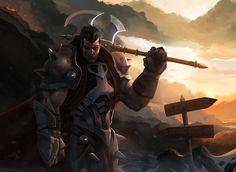 Darius - League of Legends by thomaswievegg.deviantart.com on @deviantART