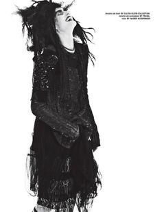 Publication: 10 Magazine Summer 2014 Model: Katlin Aas Photographer: Steven Pan Fashion Editor: Elin Svahn Hair: Tamara McNaughton Make-up: Marla Belt