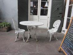How to Refinish Metal Patio Furniture via www.wikiHow.com
