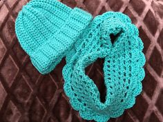 Excited to share this item from my shop: Winter Hat and cowl scarf set seafoam green hand crochet gift set winter hat beanie snow hat beanie fashion set neck warmer Crochet Towel, Hand Crochet, Crochet Baby, Snow Hat, Cowl Scarf, Red Hats, Crochet Gifts, Yarn Colors, Neck Warmer