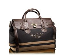 Gucci men's weekend travel bag. Travel in style!