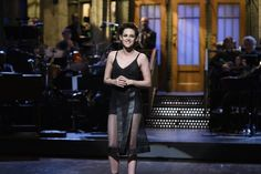 Amid political turmoil, as legal battle rages over President Trump's travel ban, and returning to originals after two weeks of Trump in office, Saturday Night Live — with host Kristen …