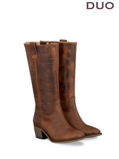 Santana Brown Leather outlet/womens-boots list