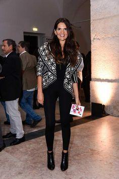 Juliana Cavalcanti wearing the Darling Cardigan #christophesauvatgirls #christophesauvat