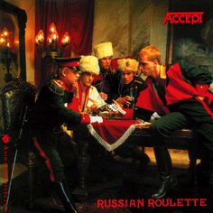 Accept - Russian Roulette (animated cover gif) #accept #russianroulette #heavymetal #truemetal #animatedcovers #gif