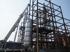 We have successfully done #Erection of Palm Oil and Soybean Oil Deodorizer for our client Ajanta Soya Limited which is located at #Bhiwadi, #Rajsthan.