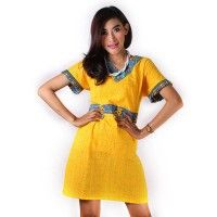 Dress Embos Pita Kuning Batik Trusmi Cirebon IDR 245.000  *bahan: Emboss Halus Exclusive *size: M, L & XL *pilihan warna: Kuning  -------------------------------------------------------------------------------- Info Order, hubungi Team Marketing Online kami [Open Reseller & Dropship] --> Phone/SMS/Whatsapp/Line :  Dian : 081564690003 | PIN BB: 57FA23DC Linda: 085864040786 | PIN BB: 57E93563 Gina : 089665271943 | PIN BB: 79FCA1A9 Viny : 085724290097 | PIN BB: 56F40C1A