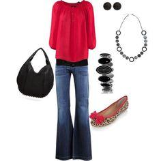 ♥ Outfits Media estación ♥ Otoño ♥ Primavera ♥ Jean recto ♥ Animal print ♥