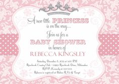 baby shower invitations for girl 2