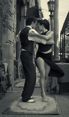 This will be Stanley and I after dancing classes.