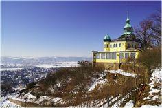 Spitzhaus Radebeul im Winter | www.misc-photo.de
