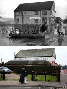 Memories of 1953 flood live on in Canvey Island.