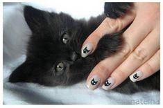 ネコが好き!猫ネイルデザインまとめ♡画像30枚&猫ネイルやり方動画   Jocee