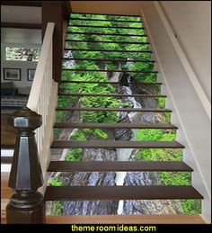 3D Wall Stickers DECORATE THE STAIRS