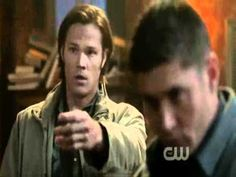 Supernatural Dean and Sam act as Jensen and Jared - YouTube!lol