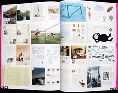 Could show the contrasting elements and chaos of the area.    Image result for secret sense of japanese magazine design
