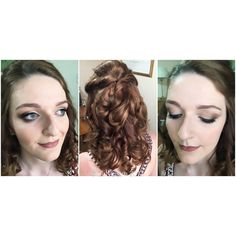 #Prom #Makeup & #Hair for these three beautiful young ladies from LangleySchool last week.  💄#MakeupandHair by Zoë, professional, #Norfolk #MakeupArtist at #girlyglammakeupartistry  💃🏼 #PromMakeup #PromHair #InstaProm #HalfupHalfdown #PromNight #Classof2017  Products & Brushes by #MACCosmetics  #UrbanDecay #TheBalm #BenNye #BellaPierre #NYX #TheOrdinary #Schwarzkopf #RealTechniques Visit www.girlyglam.co.uk