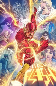 "dcuniversepresents: "" The Flash Rebirth by Carmine Di Giandomenico """